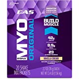 EAS Myoplex Original Protein Powder Packets, Vanilla Cream, 20 Count