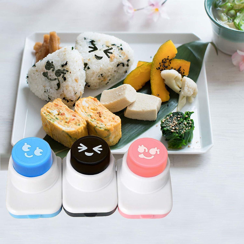 Outils de Boules de Riz Bricolage Moule en Plastique Pour Sushi de Haute Qualit/é Moule /à Sushi Cr/éatif 3 Pcs Outils de Sushi de Dessin Anim/é pour Cuisine Maison Sushi Restaurants Camping Pique-nique