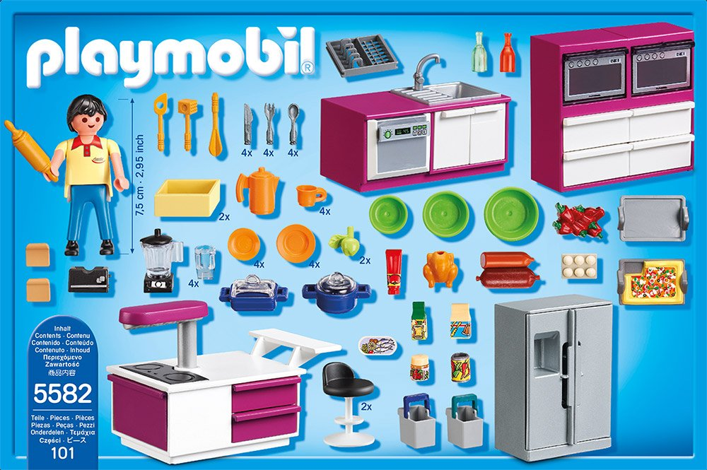 Amazon.de:Playmobil 5582 - Designerküche