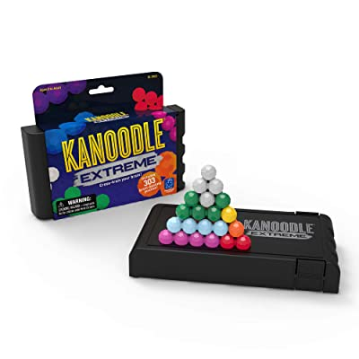 Educational Insights Kanoodle Extreme | Brain Twisting 2-D & 3-D Puzzle Game for Kids, Teens & Adults | Featuring over 300 Challenges: Toys & Games