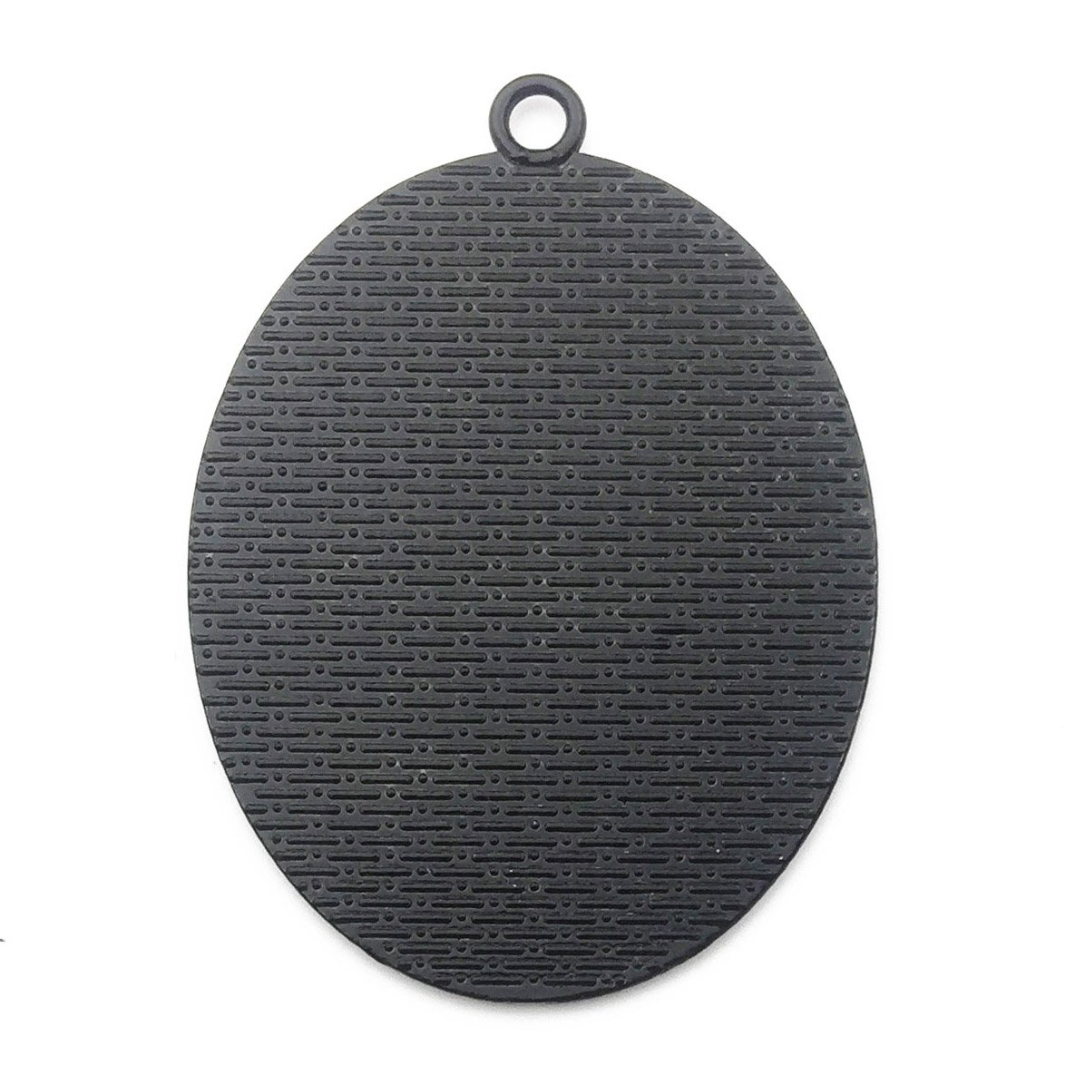 10pcs 30x40mm Black Oval Blank Bezel Pendant Trays Base Cabochon Settings Trays Pendant Blanks 10pcs Mixed No Duplicate