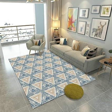 d156efe0b7c56 Amazon.com: Hanpiaotech Super Soft Area Rugs Carpet Geometric Living ...