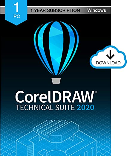 Amazon Com Coreldraw Technical Suite 2020 Technical Illustration Drafting Software 1 Year Subscription Pc Download Software