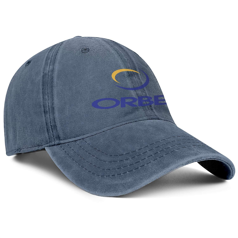 DRTGRHBFG Unisex Woman Man Fashion Denim Baseball Hats Adjustable Mesh Trucker Flat Cap
