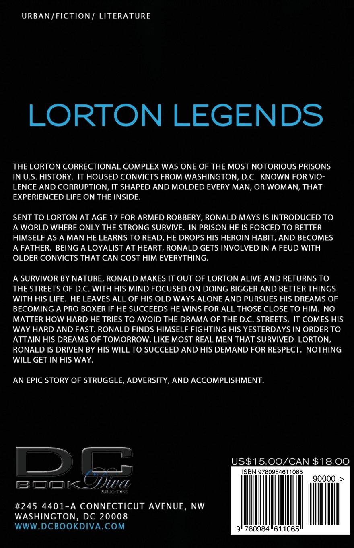 Amazon.com: Lorton Legends (DC Bookdiva Presents) (9780984611065): Eyone  Williams: Books