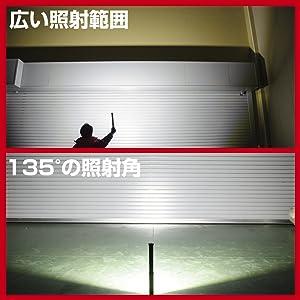 ジェントス LEDワークライト USB充電式 ガンツ GZ-603