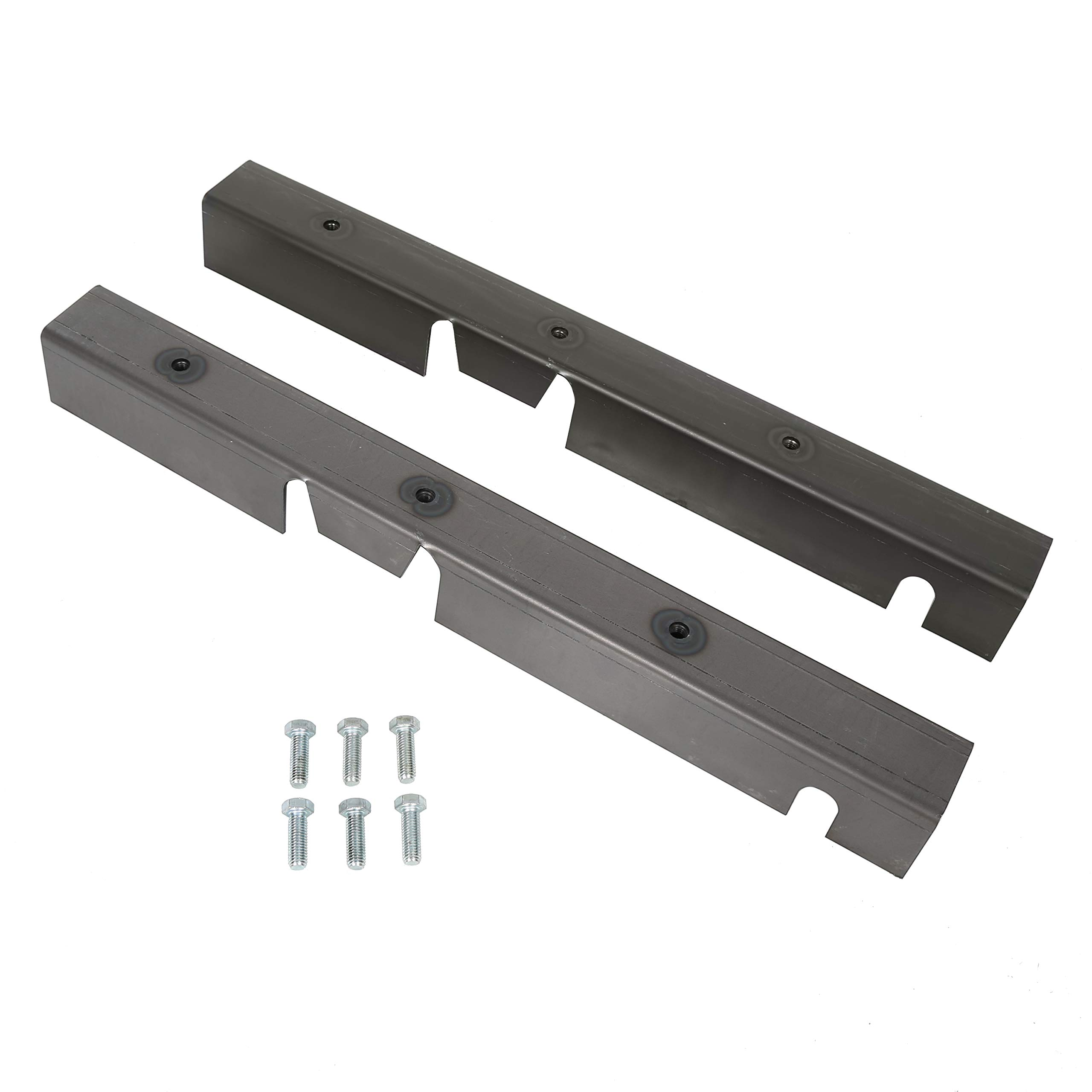 ECOTRIC Jeep Center Skid Plates Repair Sections Frame RH LH for Jeep Wrangler YJ Driver and Passenger 1987-1995