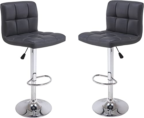 Vogue Furniture Direct Direct Adjustable Height Swivel Barstool
