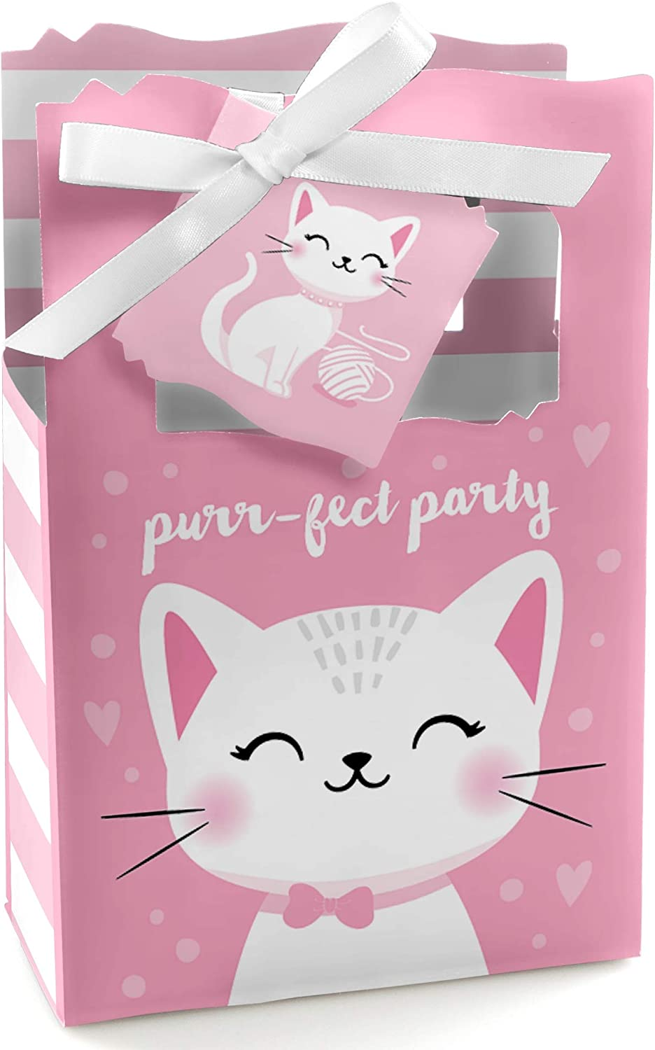 Candy Bar Wrapper Kitten Meow Baby Shower or Birthday Party Favors Purr-FECT Kitty Cat Set of 24