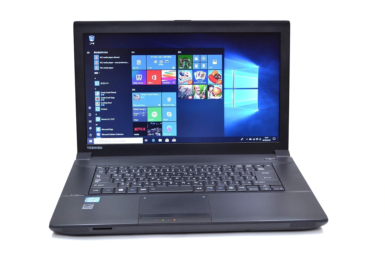 中古ノートパソコン TOSHIBA dynabook Satellite B553/J Core i5 3230M (2.60GHz) Windows10 64bit メモリ4G WiFi マルチ Bluetooth USB3.0   B01NBKFO4J