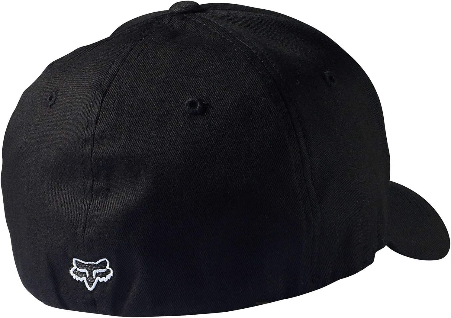 Kids 58231-Black-One Size Fox Racing Youth Legacy Flexfit Hat//Cap Black One Size Fox Head