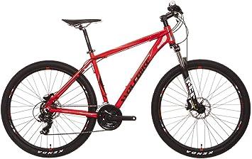 Wolfbike CLAW3D 5 27 TX300M Rojo T19 Bicicleta, Adultos Unisex ...