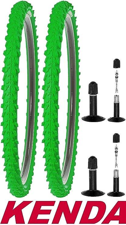 2 x Mountainbike Fahrradreifen  26 x 2,10 Decke Reifen 2 Schläuche Autoventil
