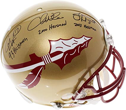 2013 NATIONAL CHAMPIONS Edition FLORIDA STATE SEMINOLES Football Helmet
