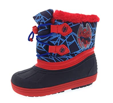 9bc041bee4c3 Marvel Spiderman Boys Snow Boots EU 30  Amazon.co.uk  Shoes   Bags