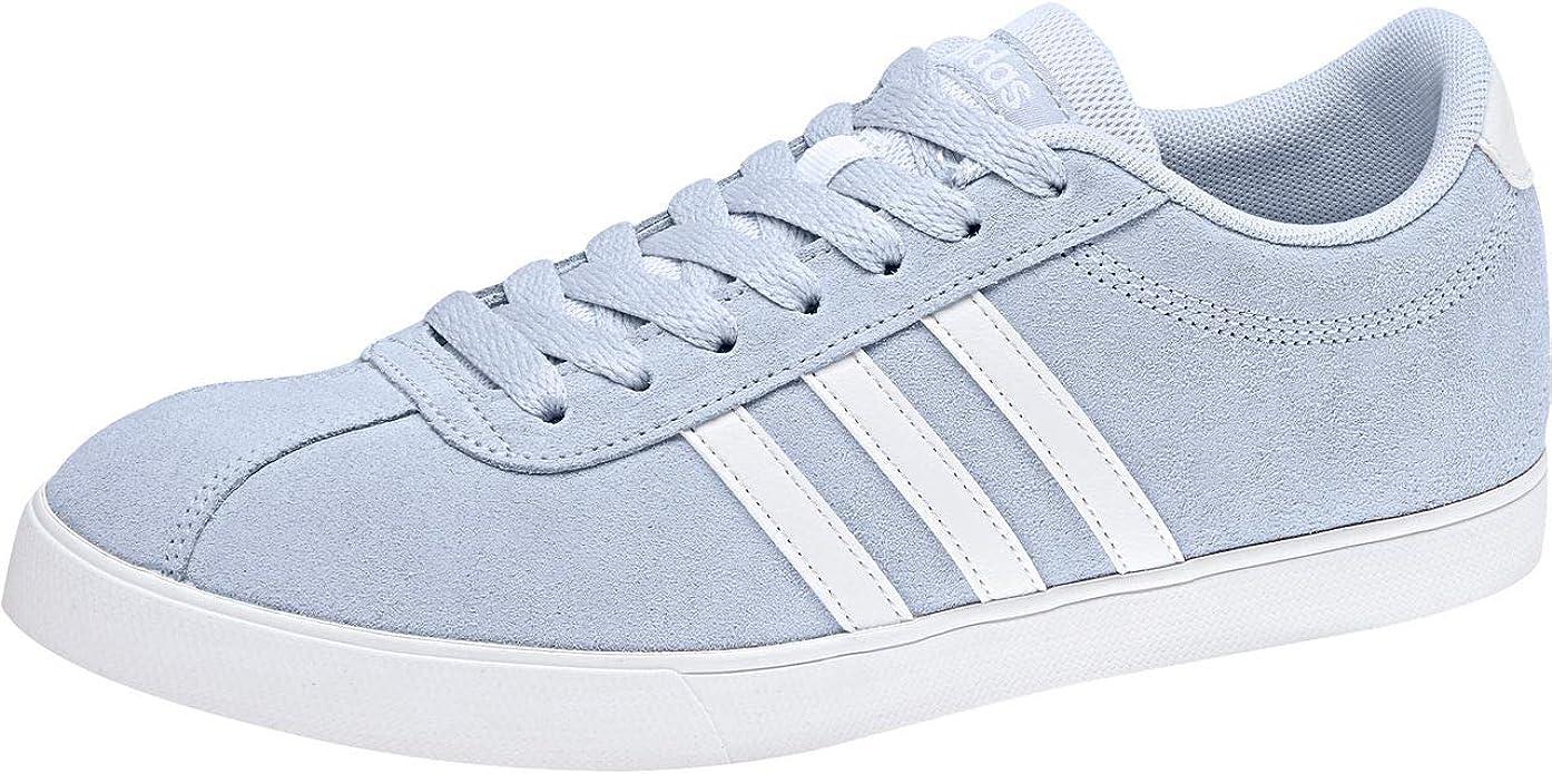 adidas Damen Courtset Fitnessschuhe, Blau (Aeroaz/Ftwbla ...