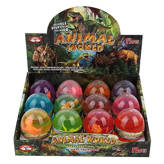 Killysufuy 2 en 1 Huevos de Pascua Dinosaurio Niños Juguete ...