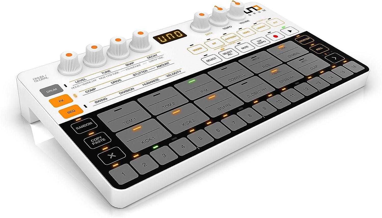 IK Multimedia『UNO Drum コンパクトアナログ/PCMドラムマシン』