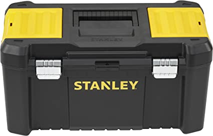 STANLEY STST1-75521 - Caja de herramientas de plastico con cierre metálico, 48.5 x 25 x 25 cm: Amazon.es: Bricolaje y herramientas
