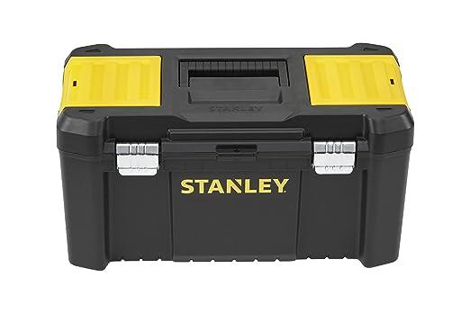 """73 opinioni per Stanley STST1-75521 Essential Cassetta Porta Utensili 19"""", Chiusura in Metallo"""
