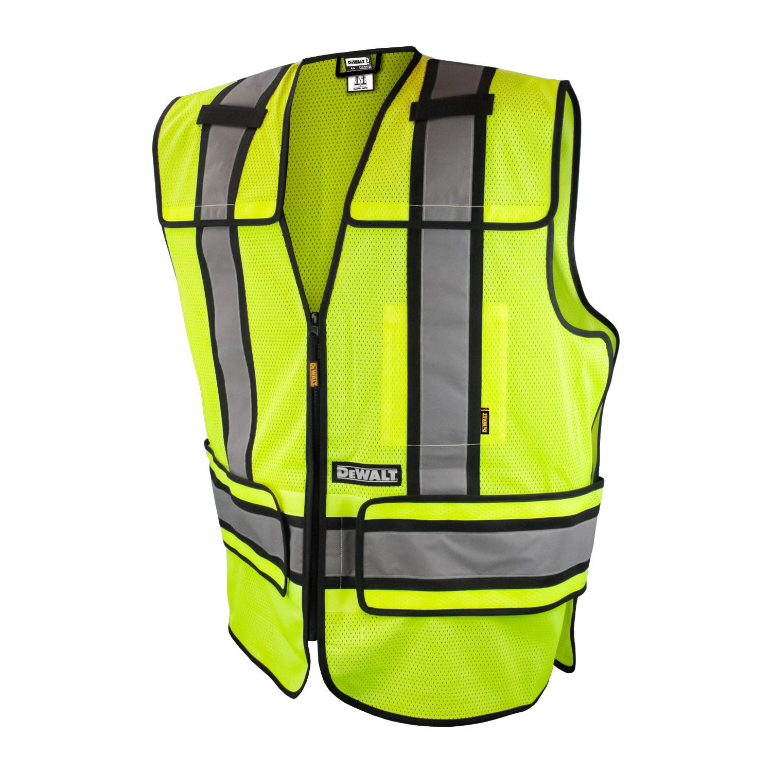 DEWALT DSV421-S/XL Class 2 Adjustable Breakaway Vest, Medium