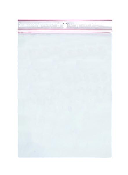 Minigrip itm103816 cartón de 1000 bolsas plástico Zip ...