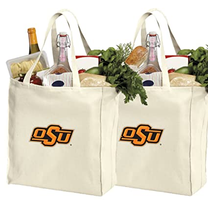 Amazon.com: Reutilizable bolsas o OSU Oklahoma State Cowboys ...