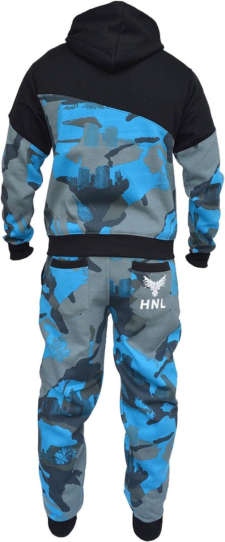 a2z4kids Kids Boys Tracksuit HNL Camouflage Hoodie /& Botom Jog Suit Age 7-13 Years