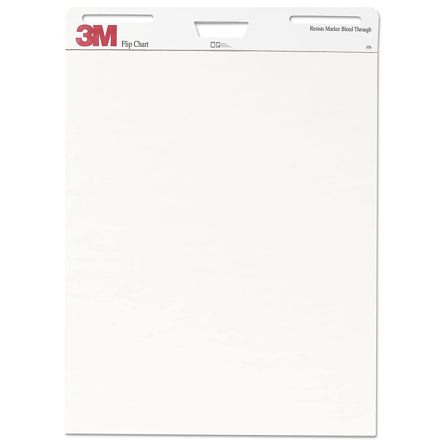 Amazon com 3m flip chart 25 x 30 inches white 40 sheets pad