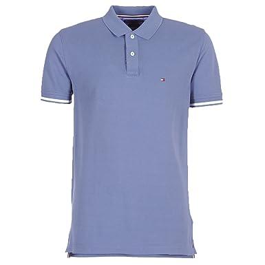 TOMMY HILFIGER HERREN Poloshirt Tipped Hemd Kurzarm shirt S