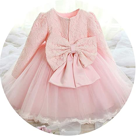 5cf70b659 Image Unavailable. Image not available for. Color: Born Baby 1 Year Birthday  Dress Baby Girl Christening Gowns ...