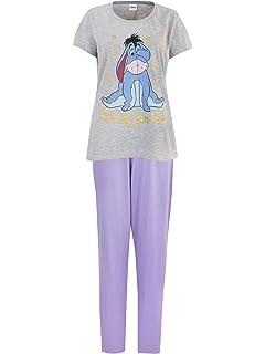 fb9ffc2aec Disney Eeyore Womens Eeyore Pyjamas XX Large  Amazon.co.uk  Clothing