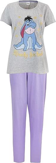 Eeyore Dream in Glitter Ladies Disney night top