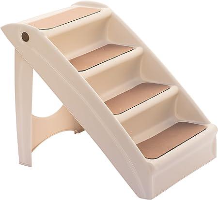 UPP® escalera plegable para mascotas I escalera plegable para perros y gatos I rampa para animales I rampa para mascotas I escalera para mascotas 4 escalones: Amazon.es: Productos para mascotas