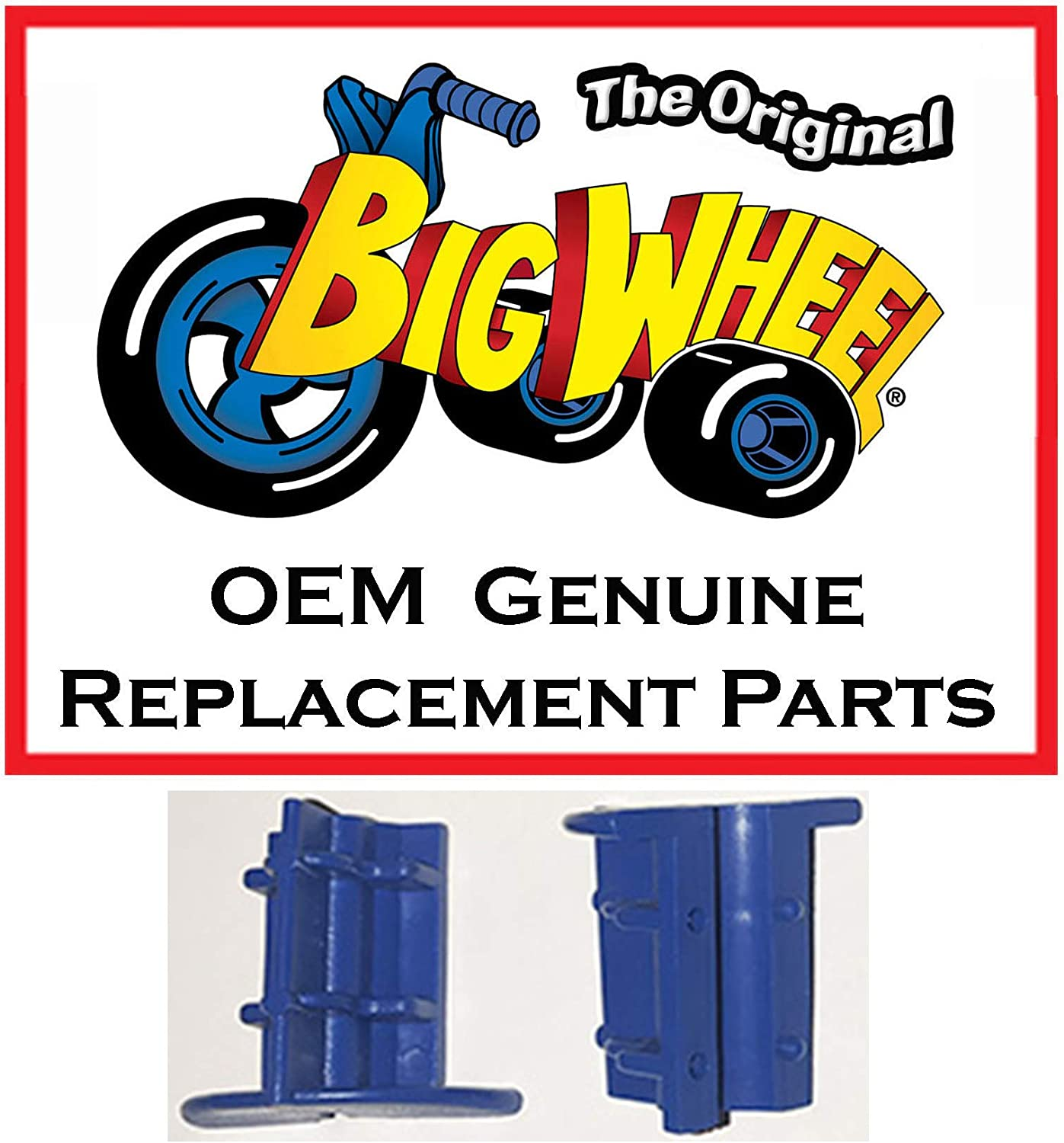 Blue Wheel Drive Inserts The Original Classic Big Wheel Set of 2 Wheel Inserts Replacement Parts