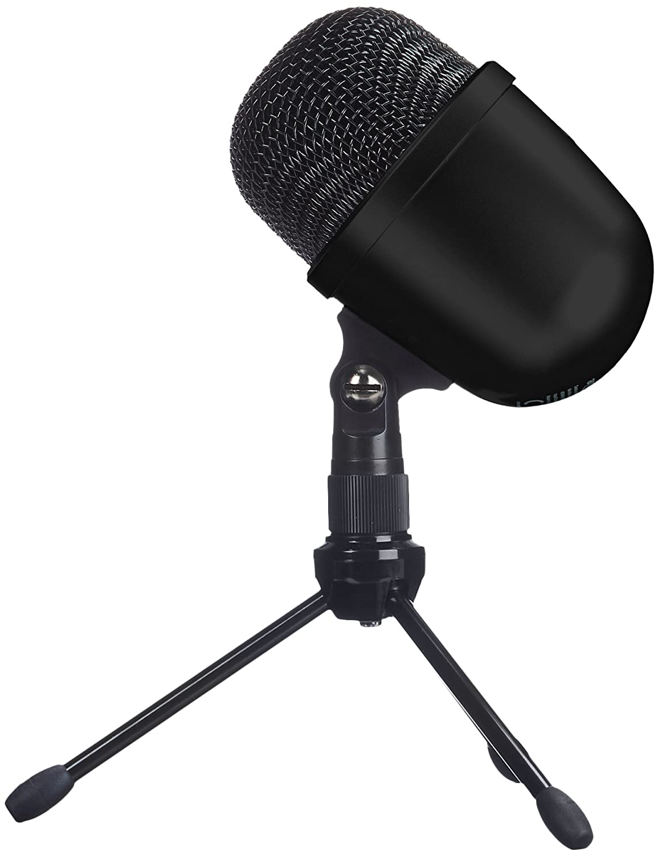 AmazonBasics Desktop Mini Condenser Microphone - Black