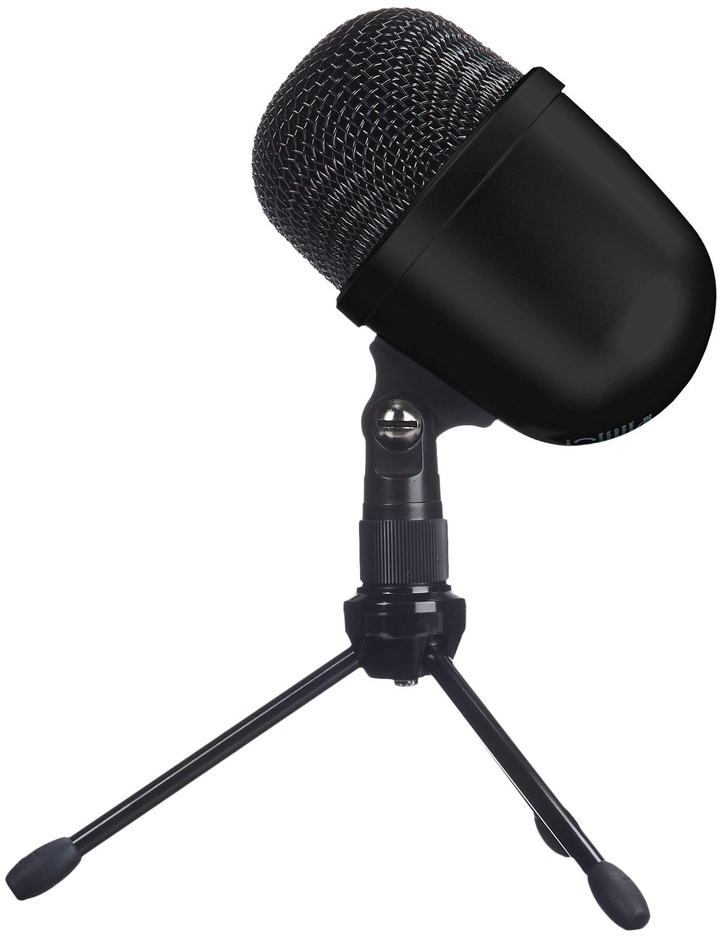 AmazonBasics Desktop Mini Condenser Microphone With Tripod - Black by AmazonBasics