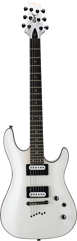 Guitarras eléctricas Cort kx5wp White Pearl Metal – Moderno ...