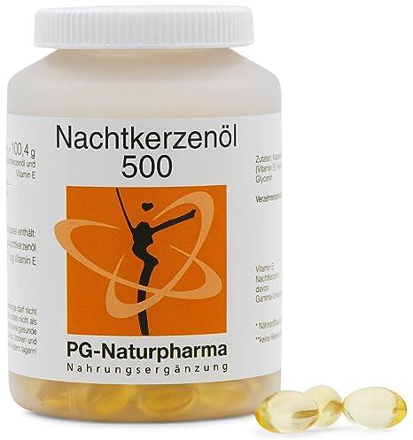 Aceite onagra perlas - 150 cápsulas con 500mg de aceite de onagra y con vitamina E