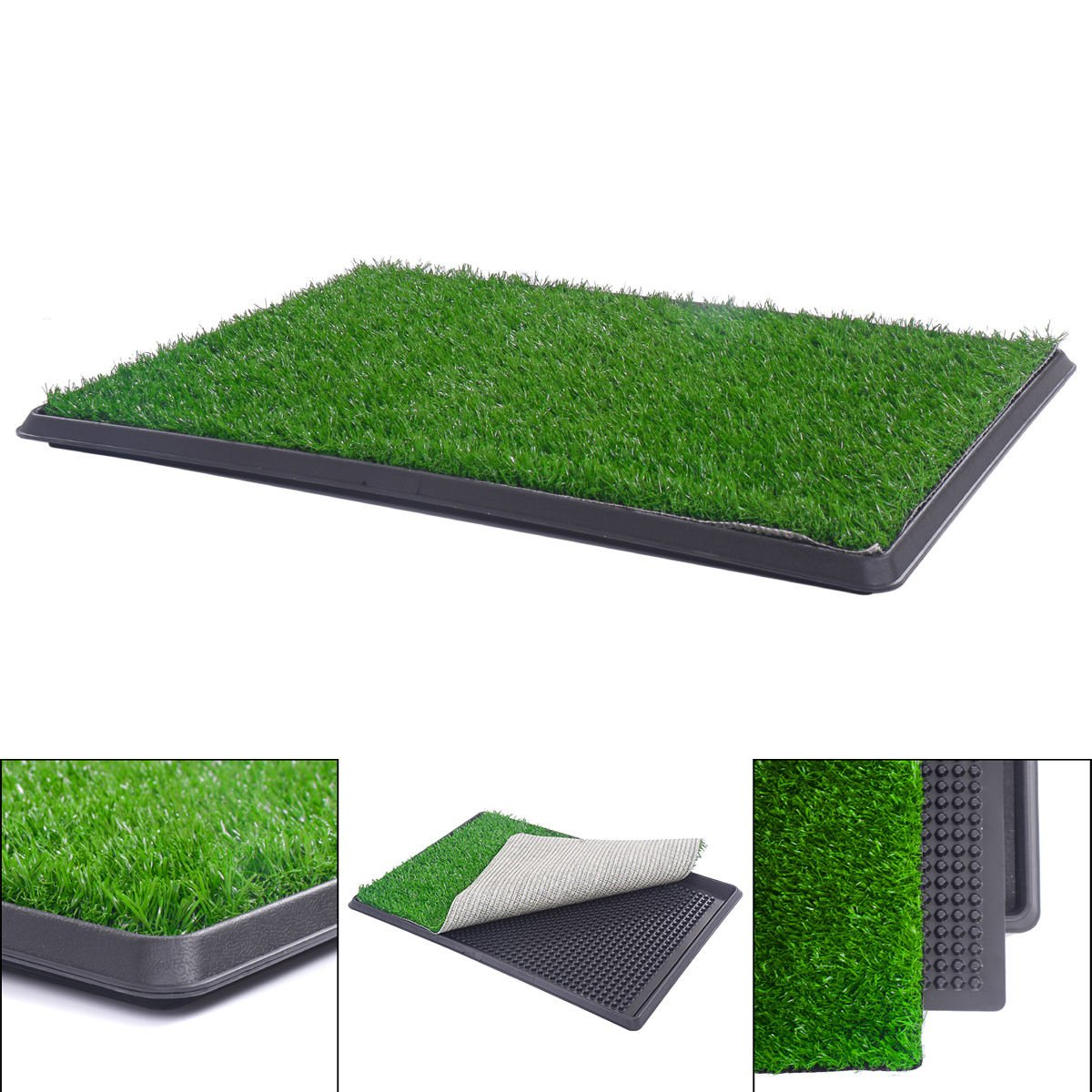Training Pads Forage training sniffer Pet Potty Training Indoor Pad Mat Turf Patch Green