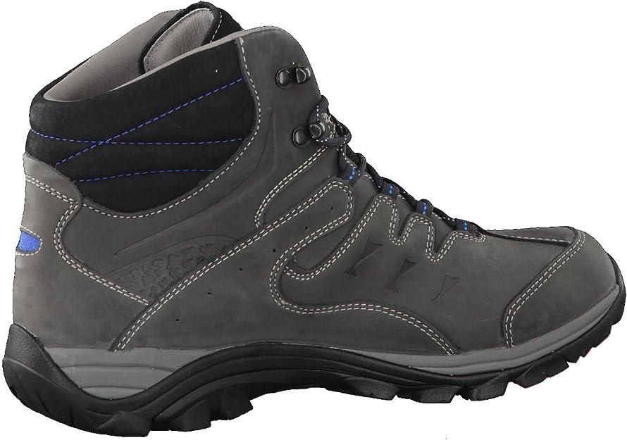 Meindl Caracas Mid GTX Chaussures pour homme Anthracite//bleu marine