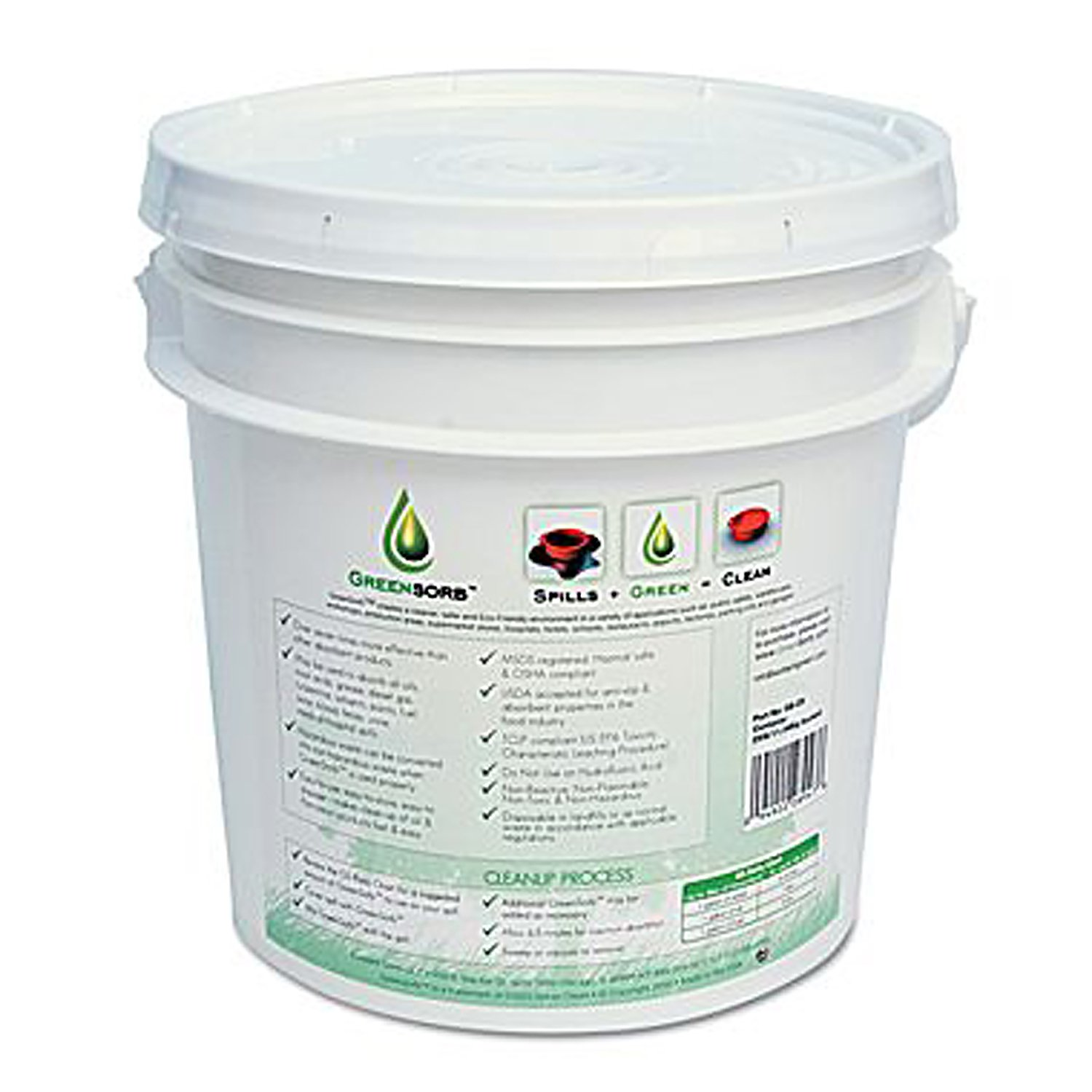 Eco-Friendly Sorbent, 10-lb. Bucket (並行輸入品) B006CTB6QK