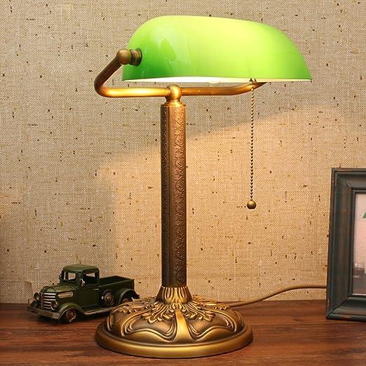 Lámpara de Mesa de Lectura Tradicional de Escritorio Antiguo de ...