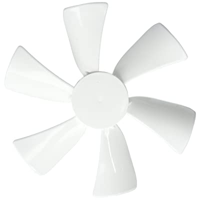 """TruePower 20-2238 6"""" Replacement Fan Blade with 0.094"""" Round Bore, White: Automotive"""