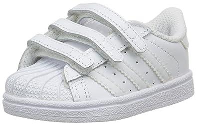 adidas Superstar Foundation Cf, Chaussures Bébé marche mixte bébé, Blanc, 19 EU