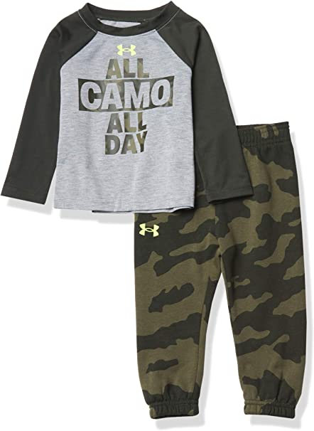 Under Armour girls Ua All Camo All Day Set