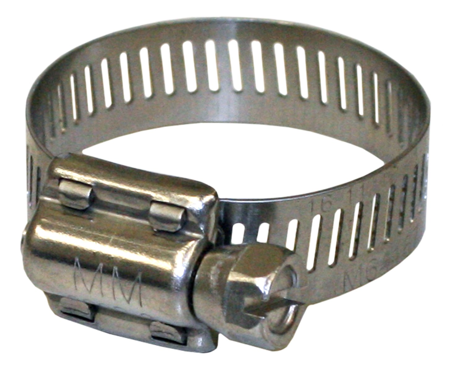 5//16 Hex-Head Screw Pack of 100 Minimum Diameter 1//2 5//16 Hex-Head Screw Minimum Diameter 1//2 Maximum Diameter 1-1//16 0.5 300 Series Stainless Steel Maximum Diameter 1-1//16 0.5 Pack of 100 Merrill MFG 6310 Hy-Gear Clamp 63 Series