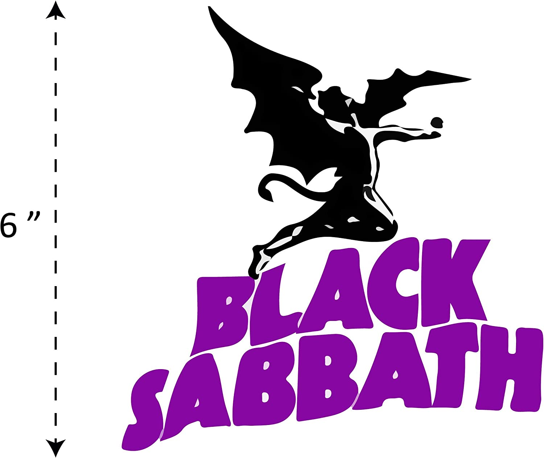 BLACK SABBATH VINYL DECAL STICKER CUSTOM SIZE//COLOR DESIGN