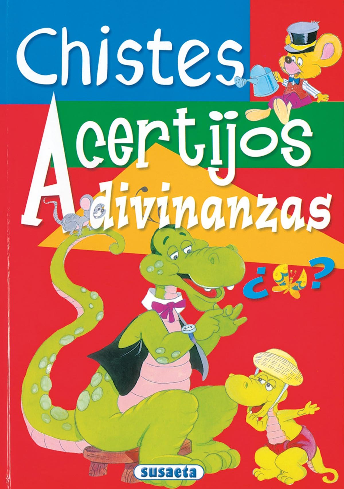 Chistes, Acertijos, Adivinanzas/Jokes, Riddles and Puzzles (Spanish Edition)