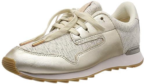| CLARKS Women's Floura Mix Low Top Sneakers